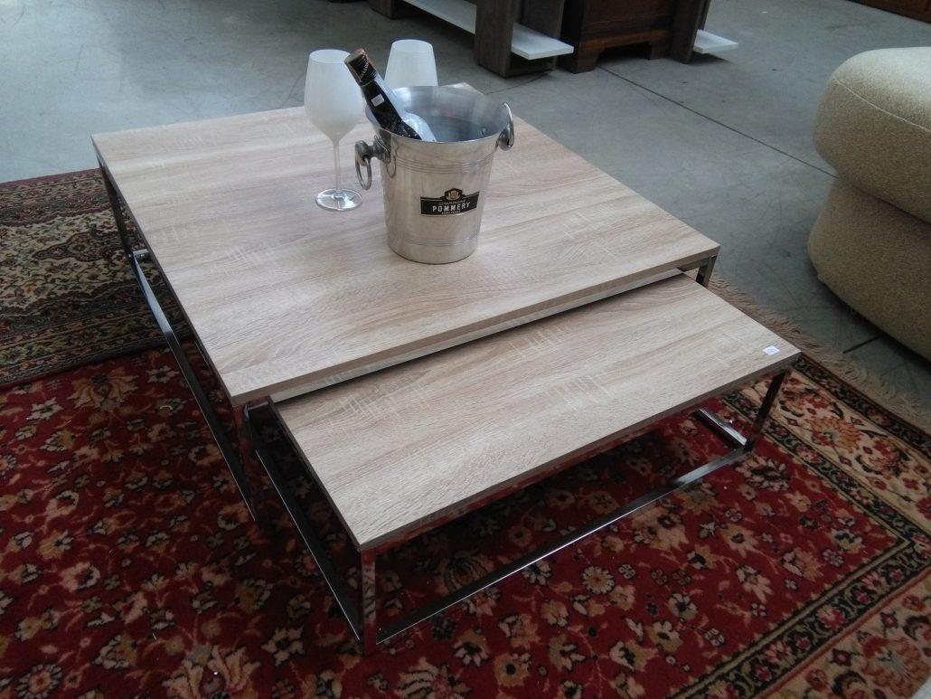 Tavolini soggiorno in laminato legno | Si Può Fare