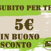 buono sconto 5 euro